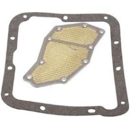 Trans filter w/gasket C4 65-69
