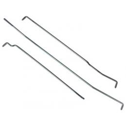 Door lock rods, left 65-66