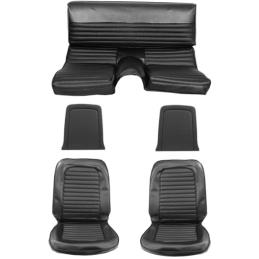 Tapicerka Fastback pełny zestaw (czarny, standard) 66
