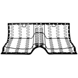 64-70 FASTBACK REAR SEAT