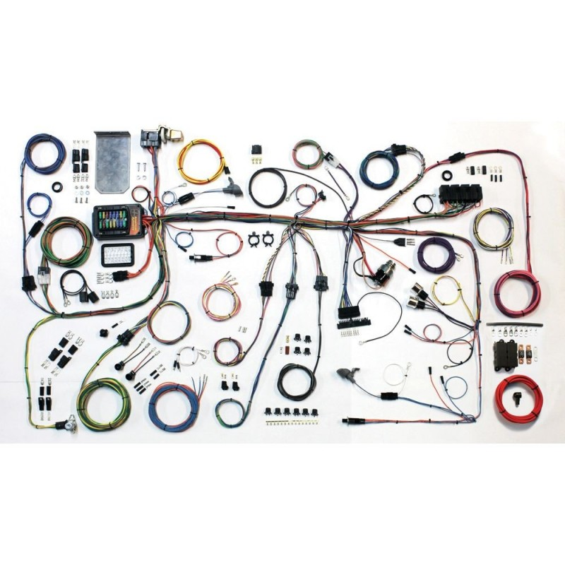 american autowire 1964-66 ford mustang classic update complete wiring kit  mustangclinic.eu classic ford mustang shop
