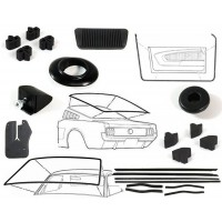 Weatherstrip and rubber parts